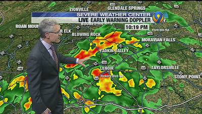 TRACKING: Showers continue, temperatures drop Wednesday