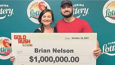 Man says he will use $1M lottery winnings to upgrade to electric toothbrush