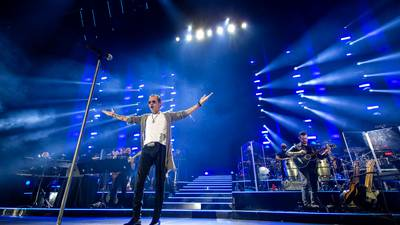 Photos: Marc Anthony performs at Spectrum Center
