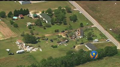 Cleanup begins after strong storms topple trees in Charlotte, Albemarle
