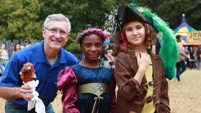Steve's Coats for Kids gets early start at Carolina Renaissance Festival