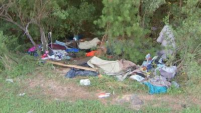 Couple may be fined after homeless set up encampment on property