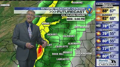 FORECAST: Hot and humid weekend with minimal rain chances