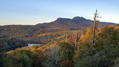 FALL FOLIAGE: Vibrant colors in the NC mountains