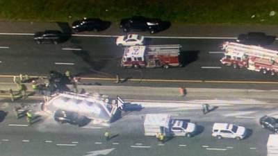 Choque mortal en suroeste de Charlotte cierra tramo de I-77