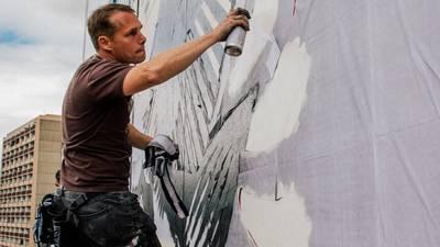 Queens University welcoming Shepard Fairey mural this week