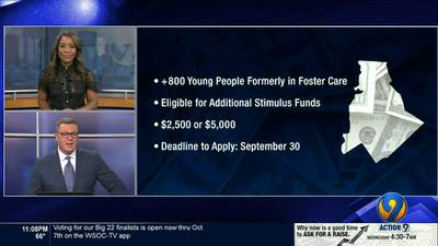 Former CLT foster kids may be eligible for additional stimulus money
