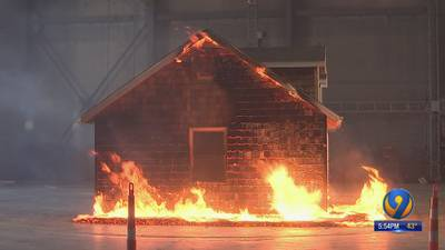 Researchers simulate wildfires at facility to improve home safety
