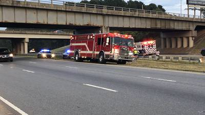 Motorcyclist killed after crashing into bridge on I-40 in Conover, troopers say