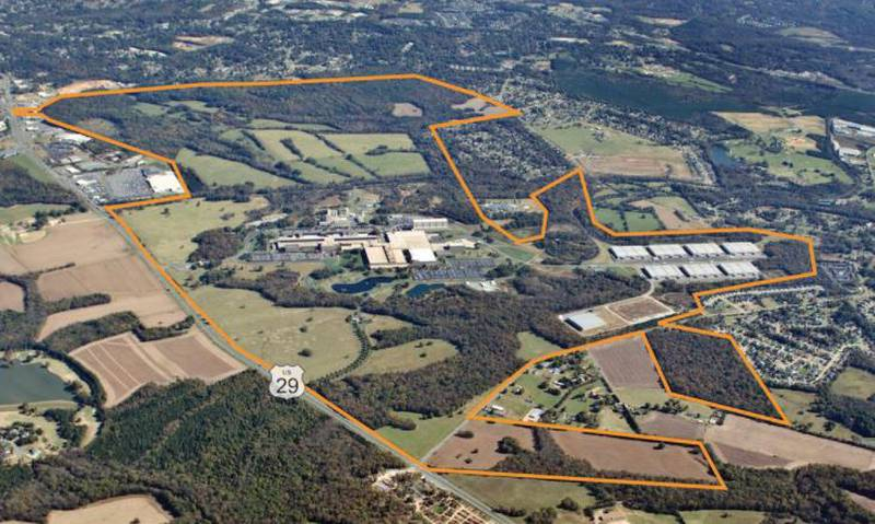 The former Philip Morris site in Concord spans 2,100 acres.