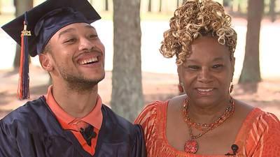 Triumph over tragedy: Chancellor Lee Adams set to graduate high school