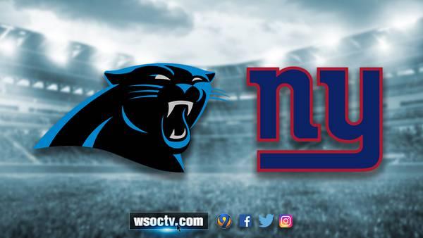 WEEK 7: Panthers, Giants meet in game between struggling teams
