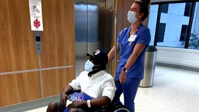 'I will be back': Veteran CMPD detective gets double-organ transplant