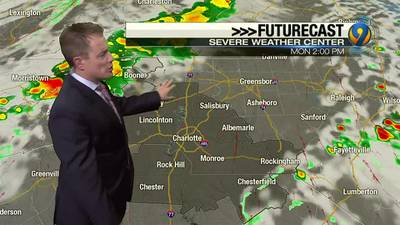 Sunday evening's forecast update with Meteorologist John Ahrens