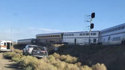 Amtrak train derails in Montana