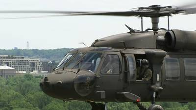 Behind the scenes: Military readiness onboard a Blackhawk at nation's capital during pandemic