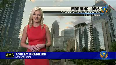 Friday afternoon's forecast with Meteorologist Ashley Kramlich