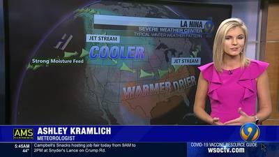 Meteorologist Ashley Kramlich's long range winter forecast