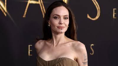 Photos: Angelina Jolie, Salma Hayek stun on 'Eternals' red carpet