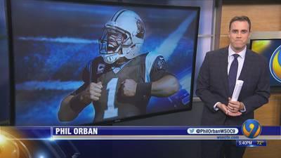 Panthers' QB Cam Newton progresses foot rehab