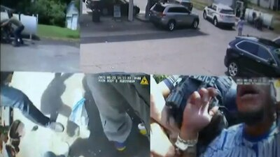Officer fired, charged after body cam video shows confrontation during brothers' arrest