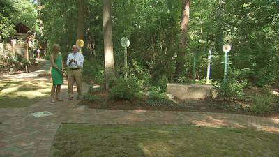 Campus Sensory garden honors memory of UNCC student who was planning to be a teacher