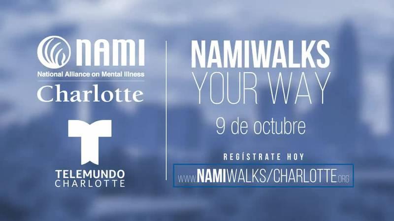 NAMI Walks Your Way - Telemundo Charlotte