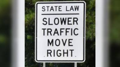 South Carolina 'slowpoke' bill goes into effect later this month