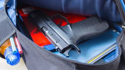 Several guns found at CMS schools since start of school