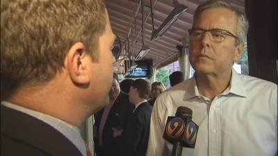 Jeb Bush visits Charlotte