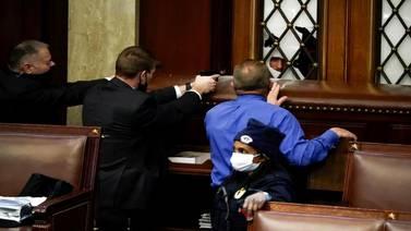 Protesters breach Capitol as Congress certifies Biden's win