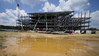 The Rock: Panthers new headquarters takes shape in Rock Hill