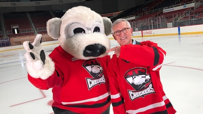 Charlotte Checkers help collect coats for kids in need
