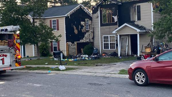 Fireworks in trash can blamed for Charlotte house fire that left 11 displaced