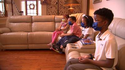 Matthews family creates newscast for kids while homeschooling during pandemic