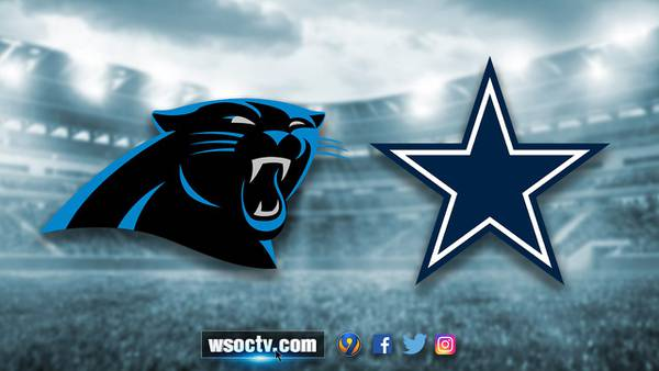 Minus McCaffrey, perfect Panthers visit Cowboys and surging Elliott