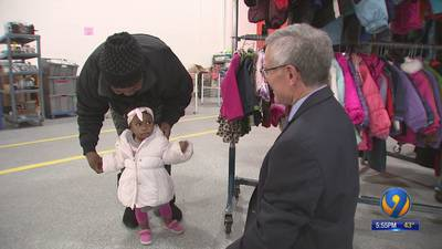 Record number of coats donated for Steve's Coats for Kids