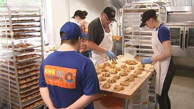 New doughnut shop owners won't let pandemic stop them from inspiring others