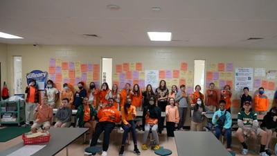 Local students participate in Unity Day 2021, nationwide movement to stand up against bullying
