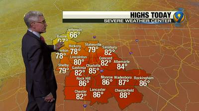 Saturday night's forecast update with Chief Meteorologist Steve Udelson