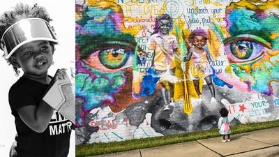 Artist creates positive representation for Charlotte Black kids